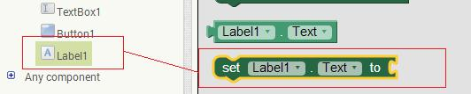 AppInventor Label