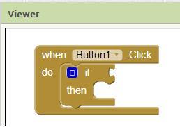 If dalam Button