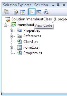 class method view code