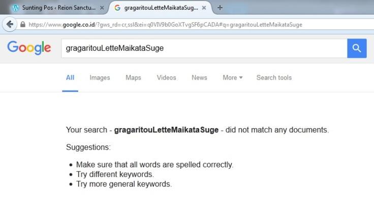 tips blog reionnote cek nama di google search
