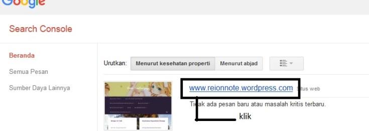 langkah pertama peta situs google webmaster tips blog
