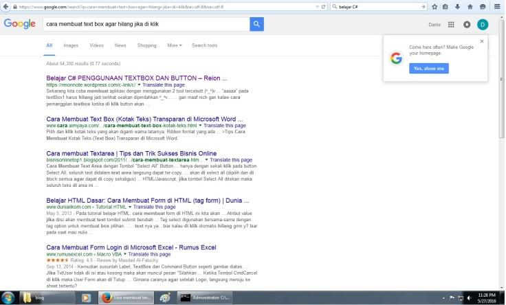 pencarian istilah yang terekam tips blog